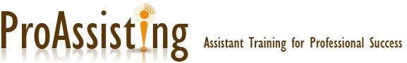 Proassisting - Executive and Admin Assistant Training