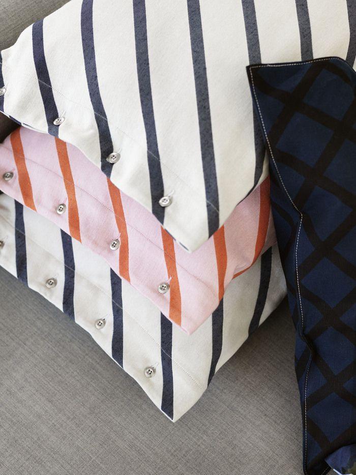 Marimekko's Mint and Quilt cushion covers