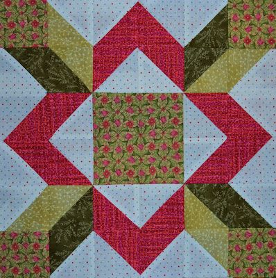 Chock-A-Block Quilt Blocks: Aunt Sukey's Patch