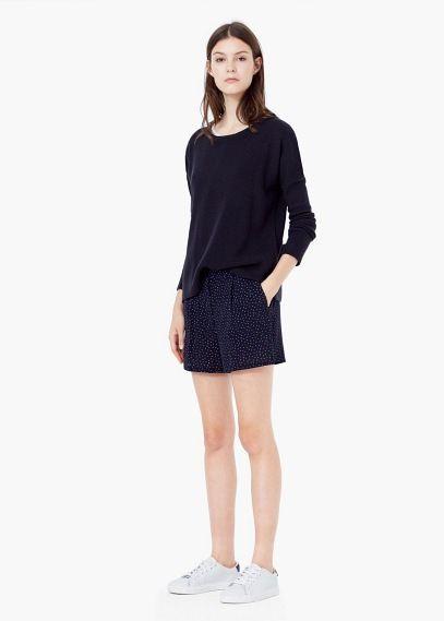 Shorts mit liberty-muster | MANGO