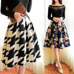 imagenes de faldas de moda 2015 con flores - Buscar con Google