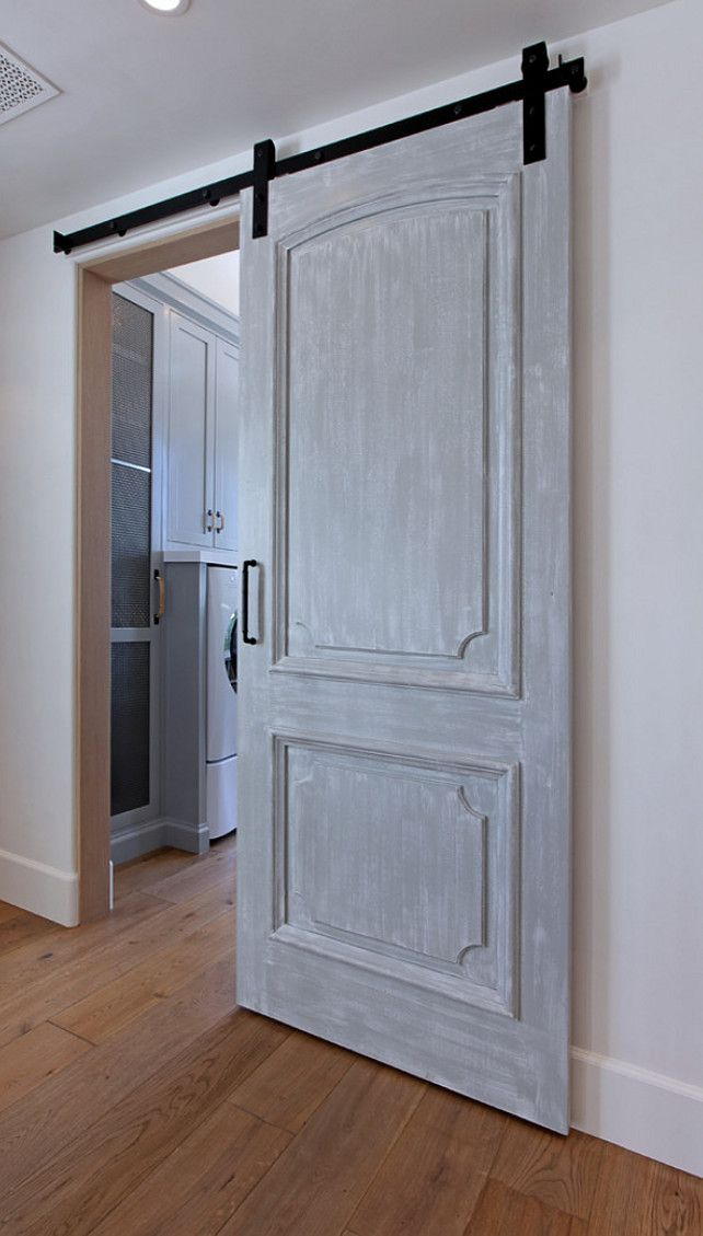The 25 best ideas about interior barn doors on pinterest for Barn door closet door ideas