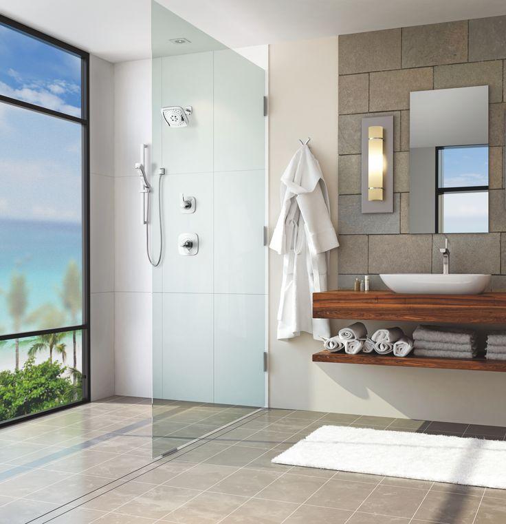 25 beste idee n over douchekoppen op pinterest stoomcabines douche tegel ontwerpen en douches - Deco douche tegel ...