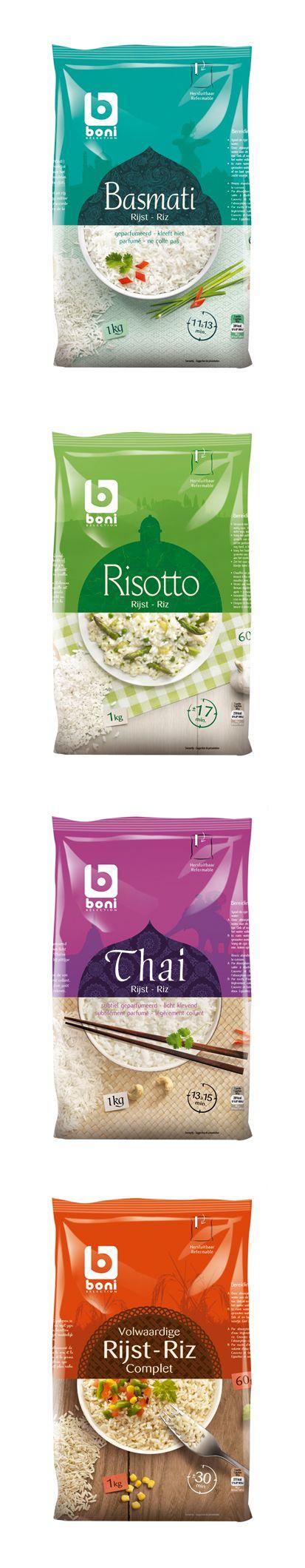 Boni rice #creatice #ads #rice #packaging