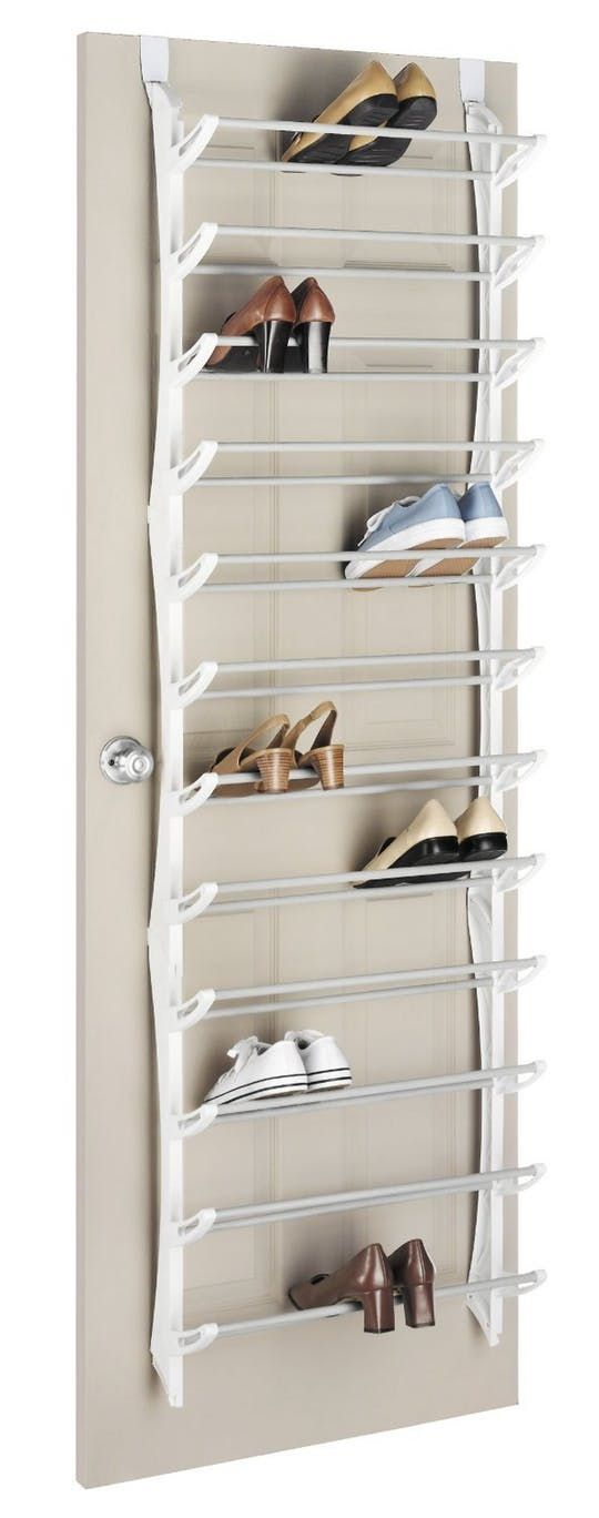 Over-The-Door Shoe Rack, 36-Pair at Amazon