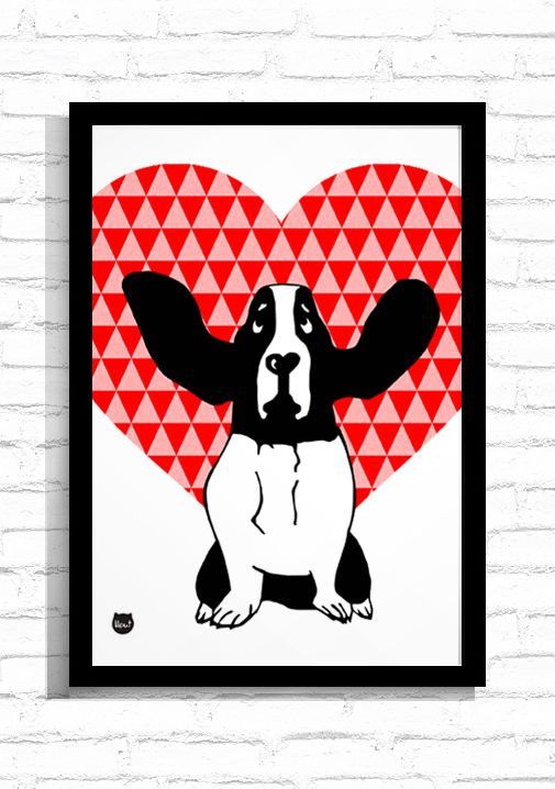 "Grafika ""Love in the Air""/ Graphic ""Love in the Air"""