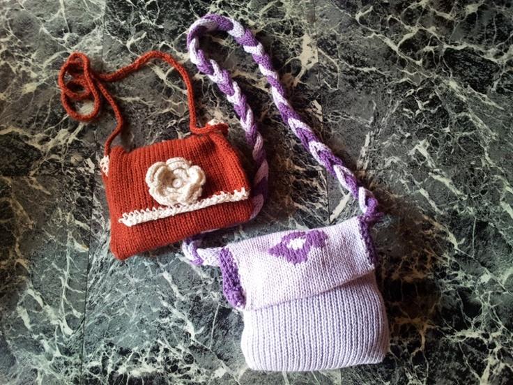 Carteras tejidas...  woven handbags
