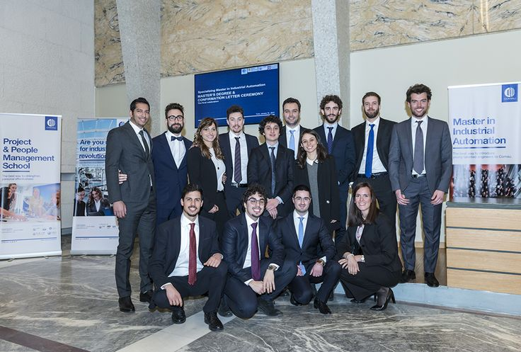 The Specializing Master in Industrial #Automation invests in the future of recently graduated people. Since 2012, the Master in Industrial Automation has permitted more than 90 students from the program to be hired by #Comau with open-ended contracts. Lectures are given by the best managers of Comau and by professors of Politecnico di Torino. www.comau.com