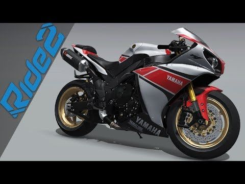 YAMAHA R1 2014 TOP SPEED of Racing Motors Ride 2 Gameplay