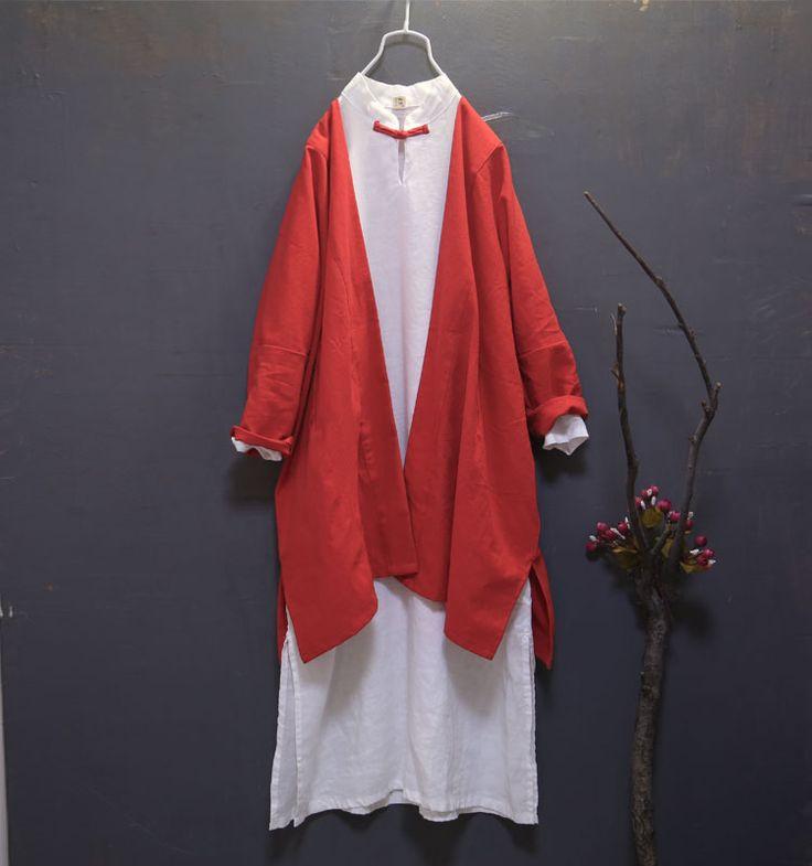Original Spring Women Kimono Cardigan Cotton Long Blouse Black Shirt Female Casual Cardigans Blusas Plus Size New Brand Outwear