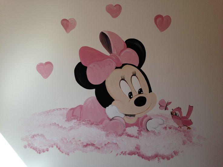 Minnie wolk muurschildering by joan of arts