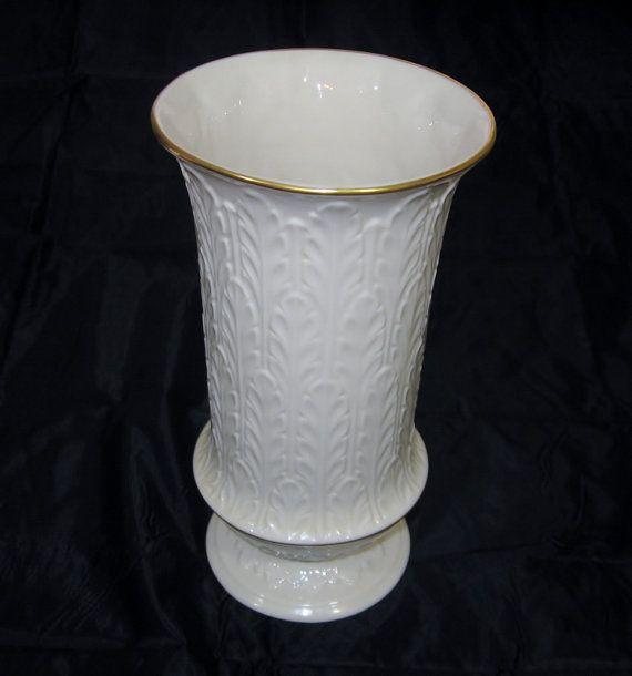 lenox vases vintage. vintage lenox vase autumn leaf pattern tall by eclecticvintager, $50.00 vases