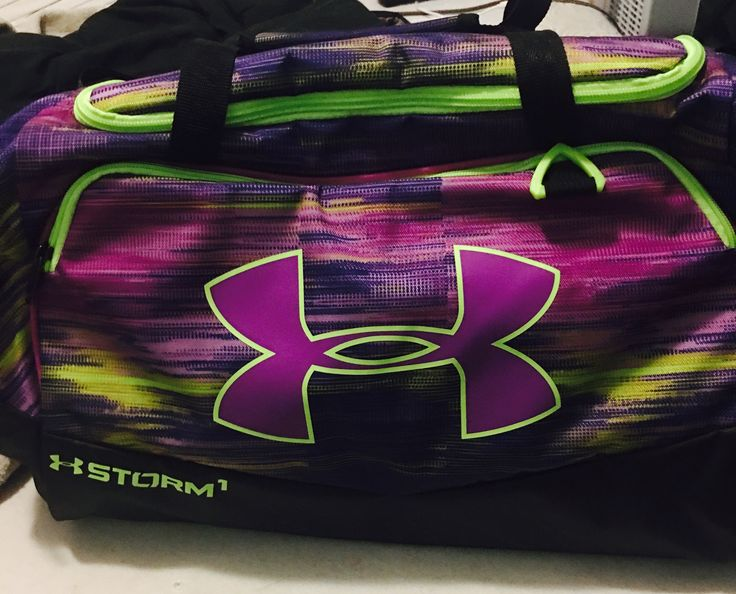 I got a new under amour sport bag for Christmas