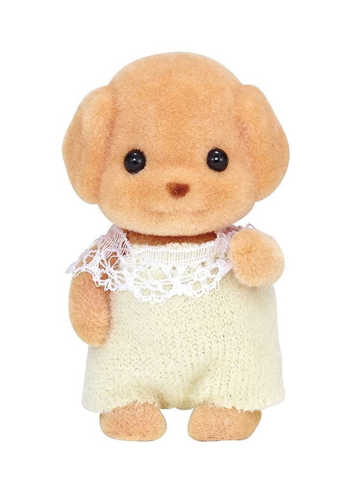 Sylvanian Families Calico Critters Toy Poodle Baby