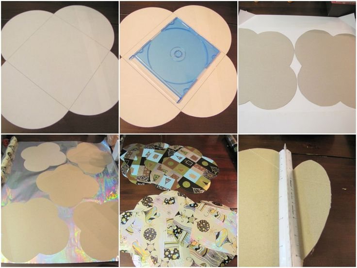 Handmade cd gift boxes
