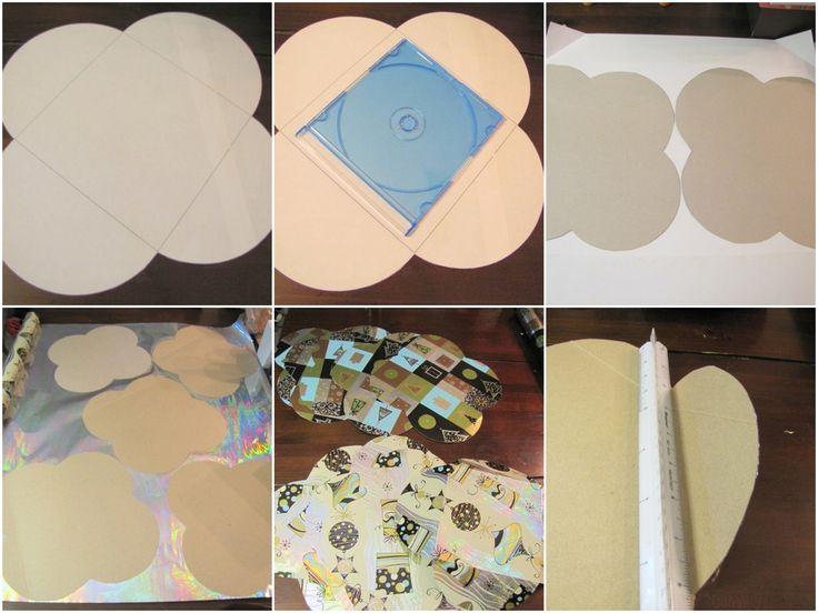 Handmade cd gift boxes