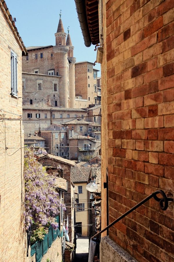 Urbino  Italia  by Fabio Cappellini, via 500px