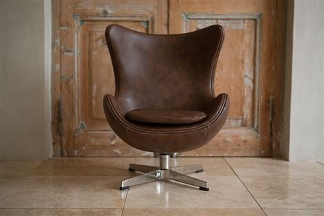 Incy Interiors Egg Chair - Leather, Children's Chairs