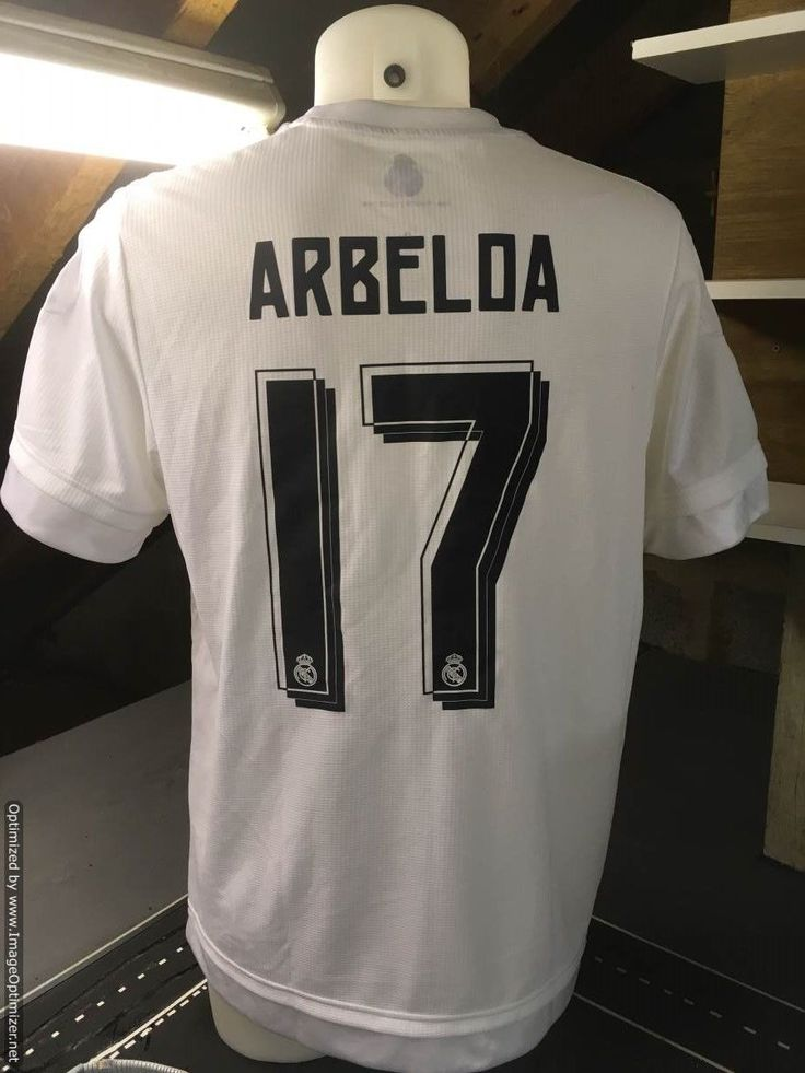 Arbeloa real #madrid post #match swap football shirt v epl team - not worn #spain,  View more on the LINK: http://www.zeppy.io/product/gb/2/162275769593/