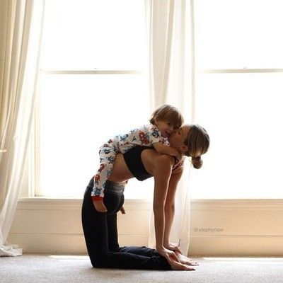 absolute cuteness #yoga