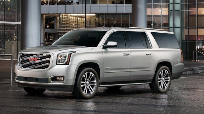 Image Of The 2018 Gmc Yukon Xl Denali Full Size Luxury Suv With