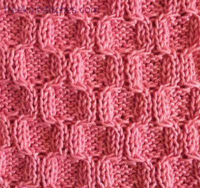 Grapevine Lace Knitting Pattern : Honeycombs knitting stitches ??????? ??????? Pinterest ...