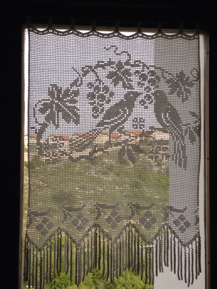 2226 Best Magic Crochet And Filet Curtains Images On Pinterest