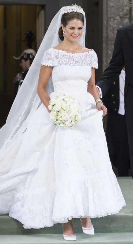 beautiful white wedding dress sins stain