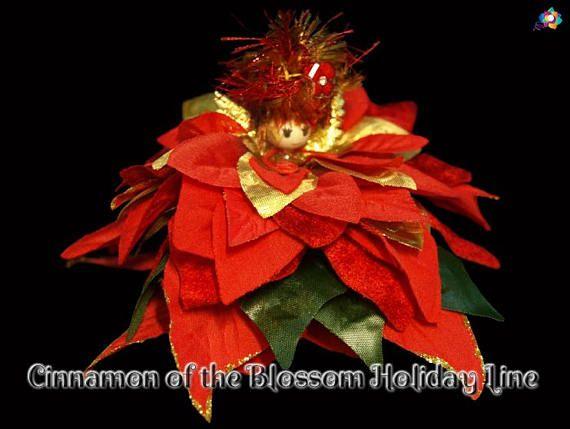 Cinnamon of the Blossom Holiday Line Fairy Faerie OOAK