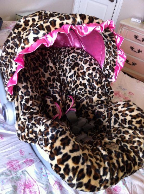 Leopard Print Baby Seat ♥