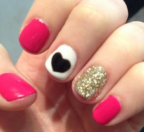 13 Nail Art Ideas For Teeny Tiny Fingertips Photos: Pink Nail Art Ideas For Teens