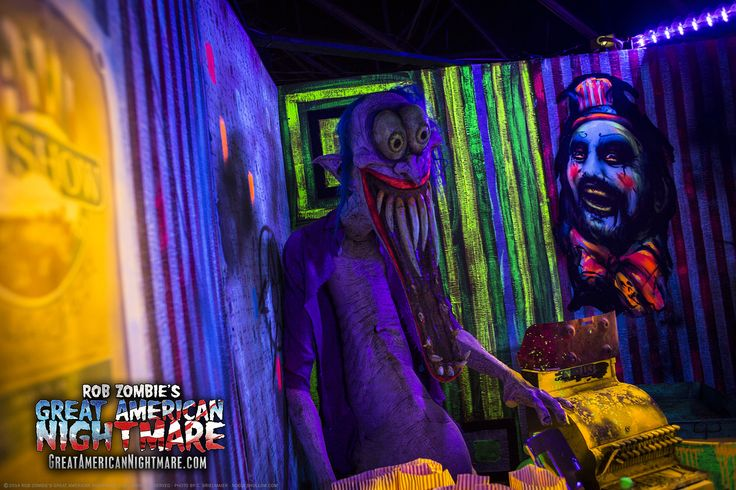 Rob Zombies Great American Nightmare Haunted House