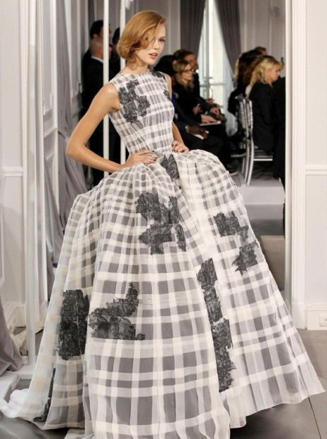Haute Couture Christian Dior wedding dresses 2012