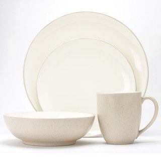 @Overstock - Showcase your beautiful, home-cooked meals or dress up your takeout by using this simple cream-colored stoneware dinner set. Add these dishes to a table set with flowers to turn dinner into an occasion. Theyre dishwasher safe, making cleanup a snap.http://www.overstock.com/Home-Garden/Noritake-Colorware-Cream-Coupe-16-piece-dinnware-set/6477810/product.html?CID=214117 $132.99