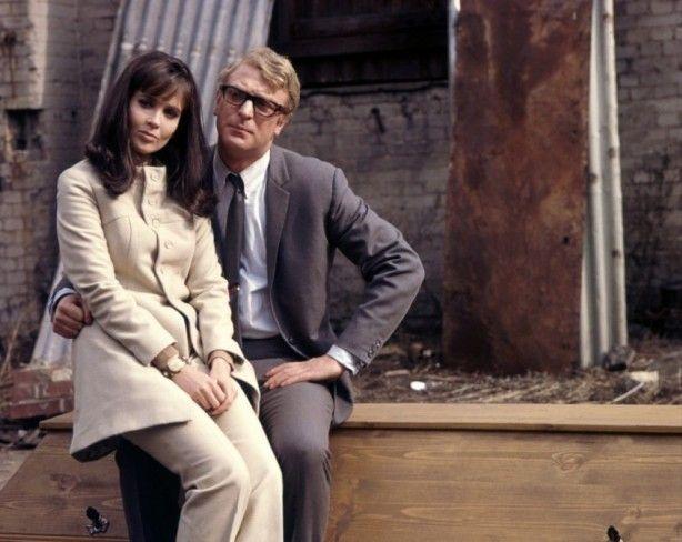 Sixties | Eva Renzi and Michael Caine, stars in Funeral in Berlin, 1966