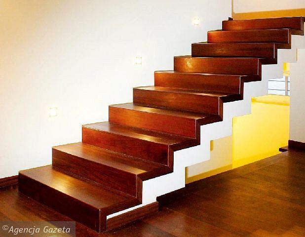 Znalezione obrazy dla zapytania schody żelbetowe pokryte drewnem