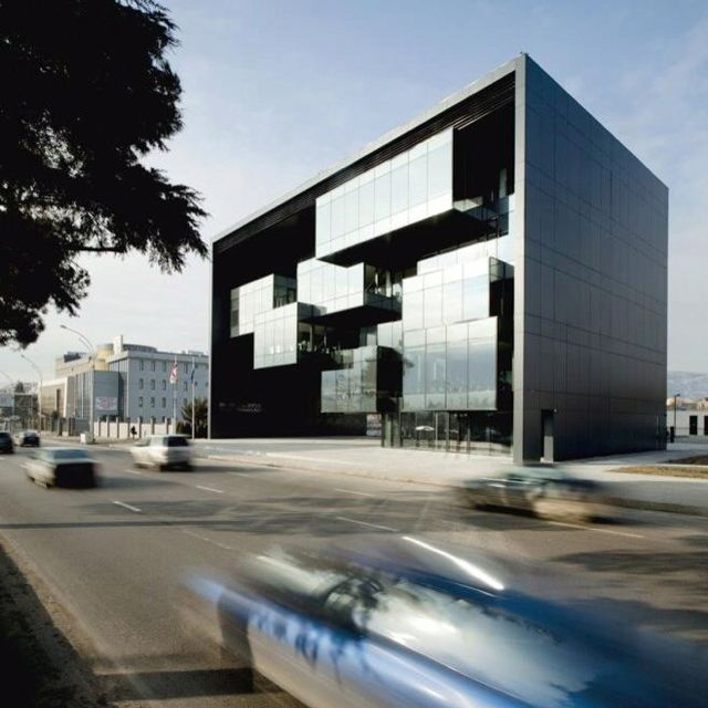 Modern Architecture Defining Contemporary Lifestyle In: The Building Has This Unique Decieving Look, As You