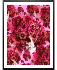 Girly by Nature-Framed Art Print