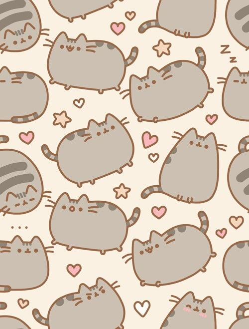 Tilting Pusheen background ★♥