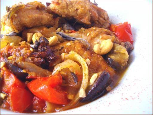 poulet kedjenou (Côte d'Ivoire) - Recette de cuisine Marmiton : une recette