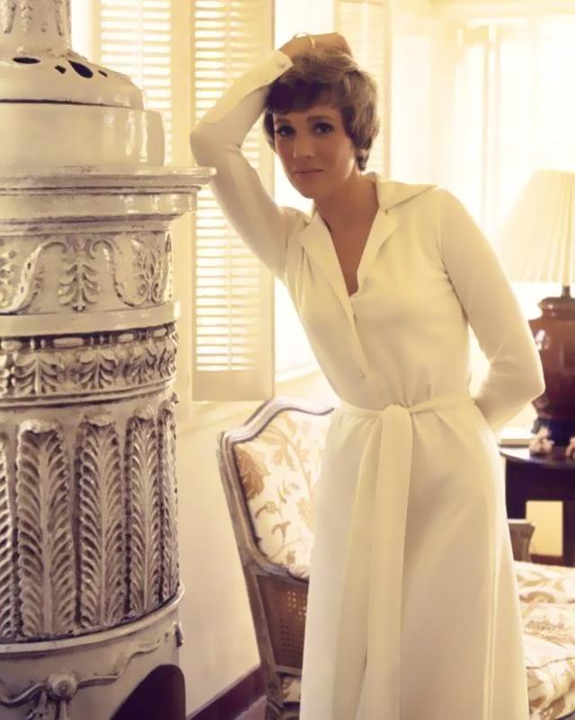 Julie Andrews- I kinda wish I was really more like her.