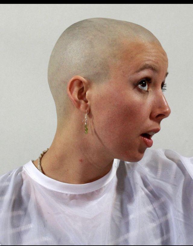 Pin On Bald Women 10