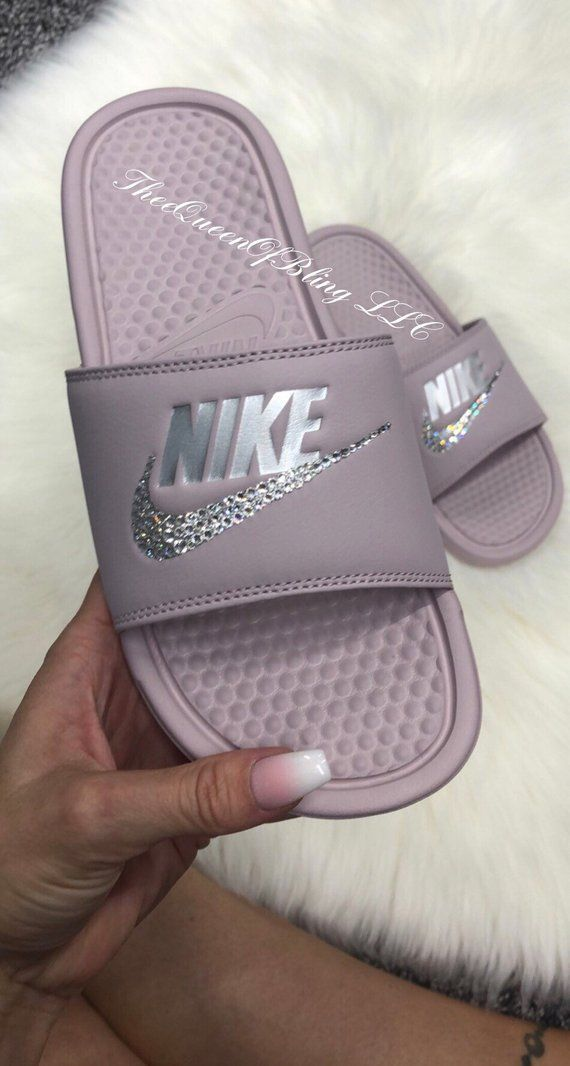 5245e51bd Pretty feet 💎 Authentic nike Benassi slides for women These come in only  whole sizes.