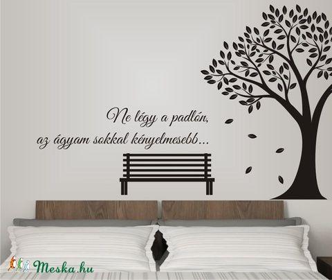 Parkban, saját idézettel, falmatrica (Grafikashop) - Meska.hu