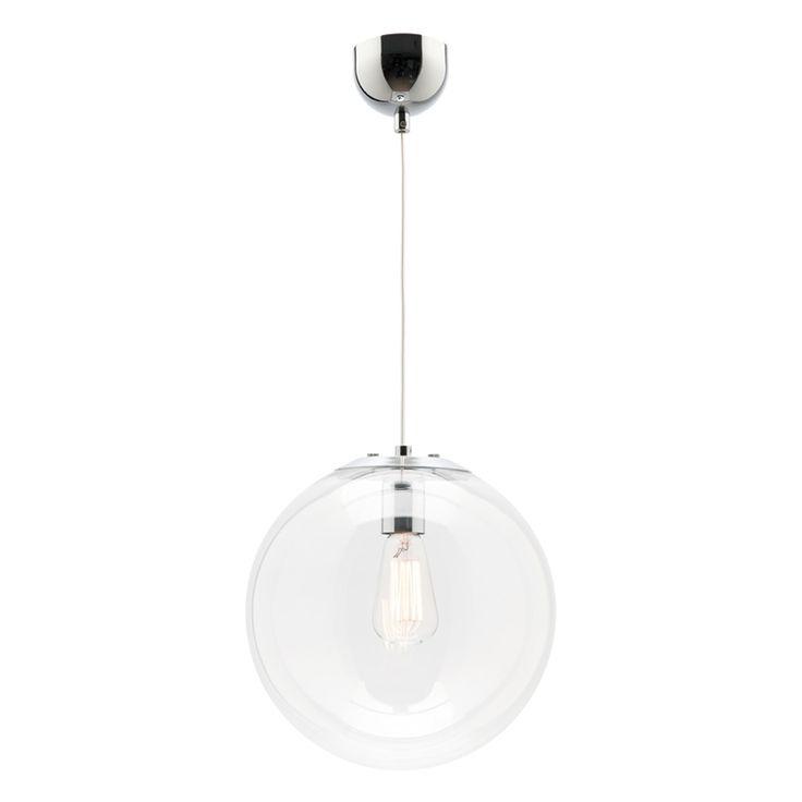 Mercator Toledo 240v 25cm Light Pendant Pendant Lighting Glass Shades Ceiling Lights