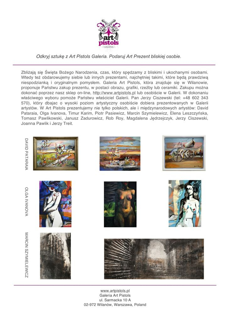 Art Prezent z Galerią Art Pistols