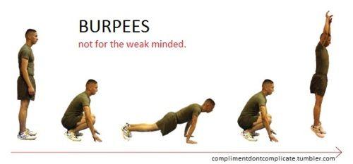 CrossFit-- Burpees
