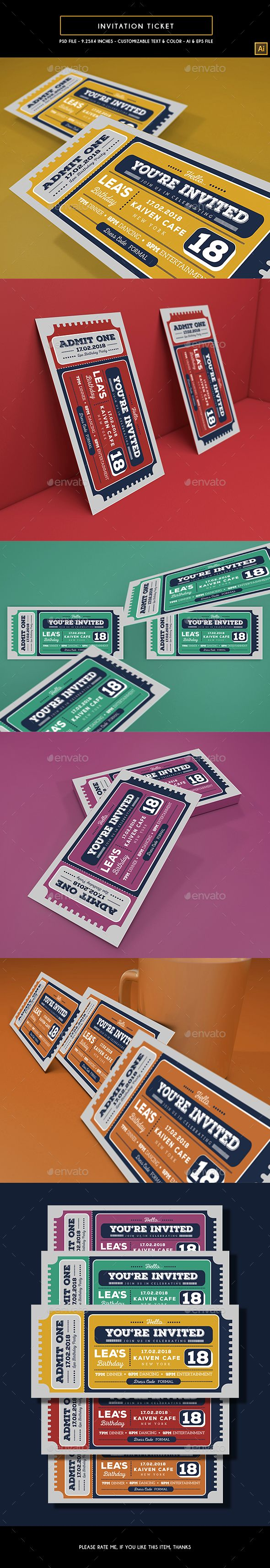 120 best ticket template images on pinterest
