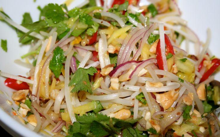 Resep Cara Bikin Salad Mangga