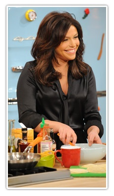 I want to go on the Rachael Ray Show to take my man's mama:) that would be amazing!